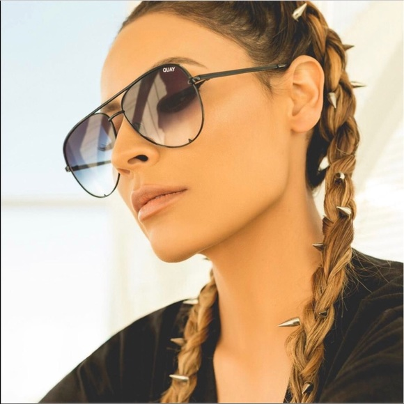 factory outlets look out for best sell Quay Australia Accessories | Black Fades Desi Perkins Sunglasses ...